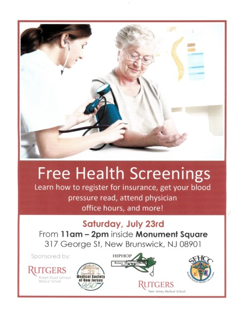 Health Screening Flier