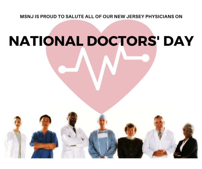 MSNJ National Doctors' Day 2018 - 2